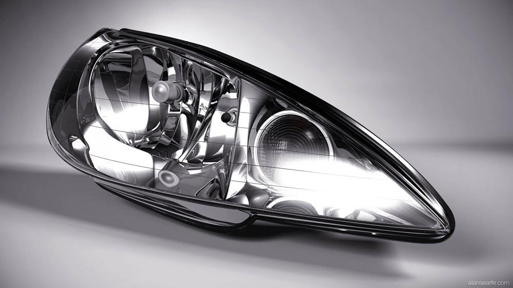 طرح تولید انواع چراغ خودرو